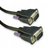 0.5m VGA / SVGA Cable - Male Fully Wired